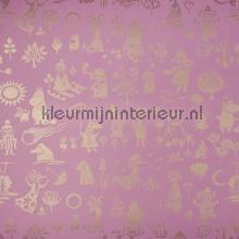 Moomin characters wallcovering Sandudd Moomin 5164-5