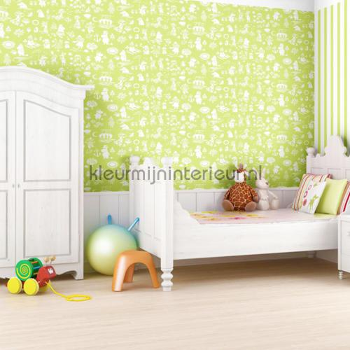 Moomin characters behang 5164-6 Baby - Peuter Sandudd