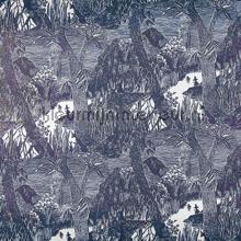 Moomin in the forest wallcovering Sandudd Moomin 5166-4