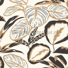 exotic leaves carta da parati Caselio Moonlight 101082093