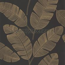 Banana tree wallcovering Caselio Vintage- Old wallpaper