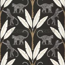 Monkey forest wallcovering Caselio Vintage- Old wallpaper