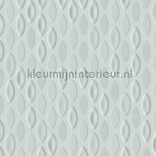 Flying coral fish wallcovering Arte Veloute Flock