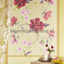 Flower wallpanellook photomural Eijffinger Muse 331576