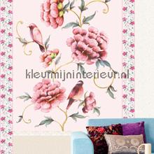 Flower wallpanellook photomural Eijffinger Muse 331578