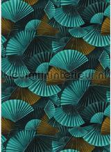 Natsu orimasu panoramique bleu fottobehaang Casadeco Natsu nats82226343