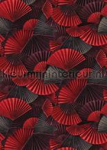 Natsu orimasu panoramique rouge fototapeten Casadeco alle bilder