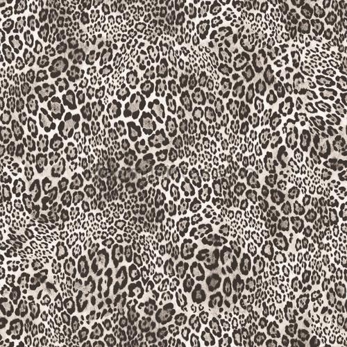 Luipaardprint Zwart Wit