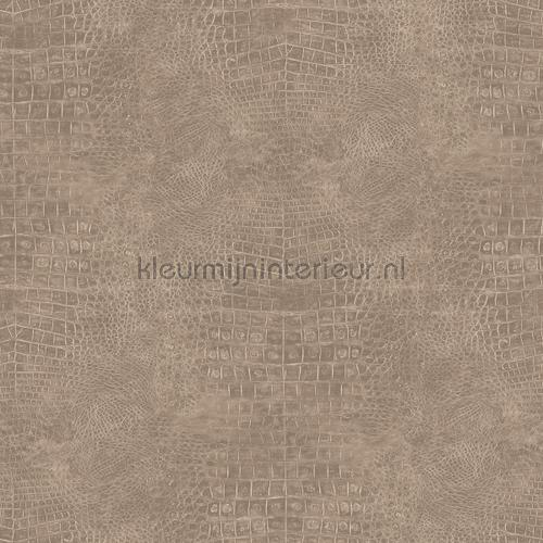 Slangenleer beige g67503 behang natural fx noordwand for Modern behang