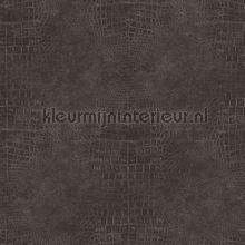 Slangenleer antraciet zilver behang Noordwand Modern Abstract