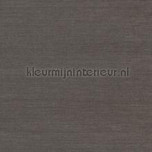 Fijn weefsel donkerbruin zilvershine papier peint Eijffinger Natural Wallcoverings II 389507