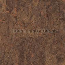 Kurk bruin op koper papier peint Eijffinger Natural Wallcoverings II 389516