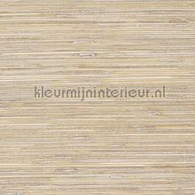 Ecru geverfd grasweefsel op goud papier peint Eijffinger Natural Wallcoverings II 389525