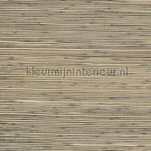 Geverfd grasweefsel naturel op zwart papier peint Eijffinger Natural Wallcoverings II 389527