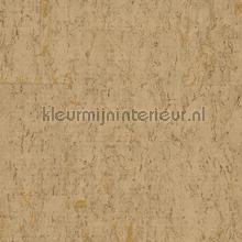 Kurk geelbruin goud papier peint Eijffinger Natural Wallcoverings II 389534