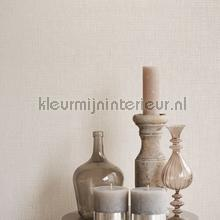Grof weefsel licht naturel op lichtgoud papier peint Eijffinger Natural Wallcoverings II 389544