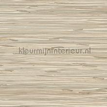 Grasweefsel lichtbruin op ecru papier peint Eijffinger Natural Wallcoverings II 389557
