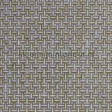 Grof wit vlechtritme met zilverdiepte tapet Kleurmijninterieur All-images