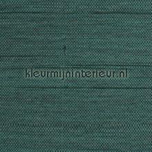 Hor. weefsel turquoise met zwart accent tapet Kleurmijninterieur All-images
