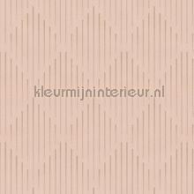 Elegante gestreepte ruitjes wallcovering Hookedonwalls Nuances NU3003
