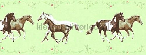 Paarden rand papel de parede 358381 raparigas AS Creation