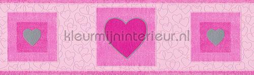Hartelijke rand behang 531216 hartjes AS Creation