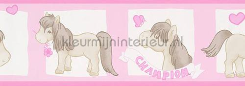 Pony rand papel de parede 892720 raparigas AS Creation