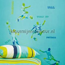 Voetballers in actie stickers interieurstickers Caselio jongens
