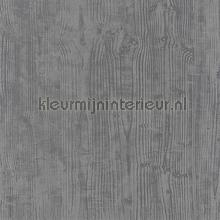 OXYDE WOOD ARDOISE IRISE behang Casadeco Modern Abstract