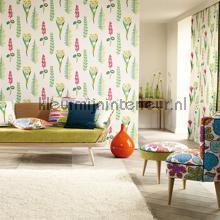 Floral Bazaar brights behang Sanderson Papavera 214770