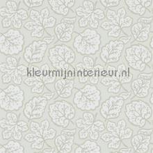 Jewel Leaves neutral behang Sanderson Papavera 214777