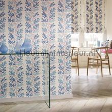 Malmo poweder blue behang Sanderson Papavera 214768
