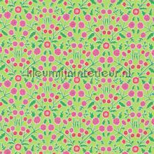 Candytuft green cortinas Sanderson romántico