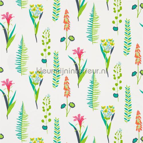 Floral Bazaar brights gordijnen 224639 Keuken Sanderson