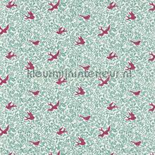 Larksong slate berry curtains Sanderson ready made