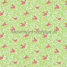 Larksong green tendaggio Sanderson marine