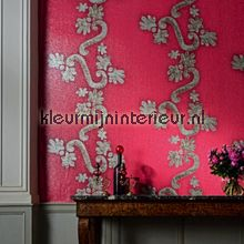 Dolce fuchsia roze wallcovering Elitis Parade VP-843-03
