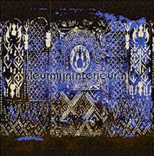 Bazaar screen kobalt papier peint Elitis Parade VP-848-01