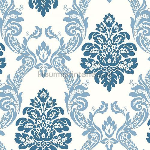 Ogee damask behang hs2125 Pattern Play York Wallcoverings