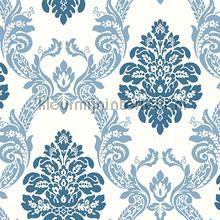 Ogee damask papier peint York Wallcoverings Pattern Play hs2125