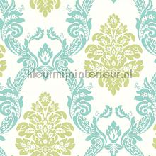 Ogee damask behang York Wallcoverings Pattern Play hs2126