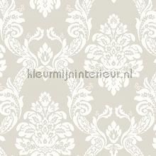 Ogee damask papier peint York Wallcoverings Pattern Play hs2128