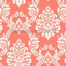 Ogee damask papier peint York Wallcoverings Pattern Play hs2130