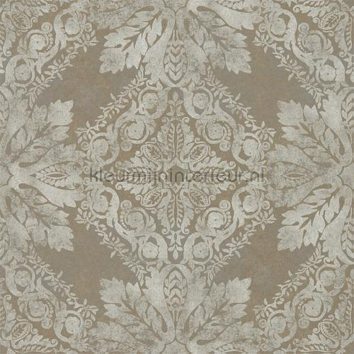 Medevi Mirror antique silver wallcovering 312610 Phaedra Wallcoverings Zoffany