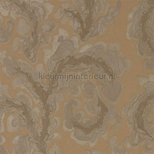 Acantha amber tapet 312618 Phaedra Wallcoverings Zoffany