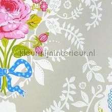 Pip Shabby Chic Khaki papier peint Eijffinger PiP Wallpaper II 313002