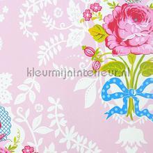 Pip Shabby Chic Pink papier peint Eijffinger PiP Wallpaper II 313003