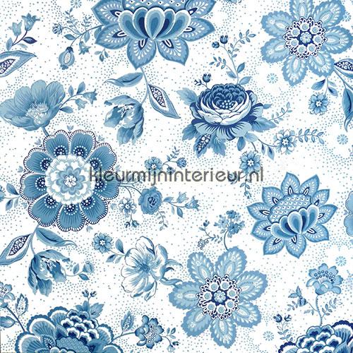 Pip Folklore Chintz Licht Blauw fotobehang 341012 PiP Wallpaper III Eijffinger