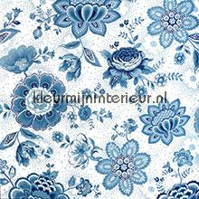 Pip Folklore Chintz Licht Blauw photomural Eijffinger PiP Wallpaper III 341012