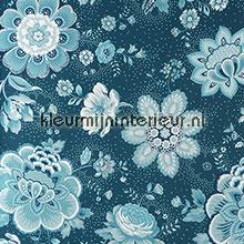 PiP Folklore Chintz Donker Blauw fotobehang Eijffinger romantisch modern
